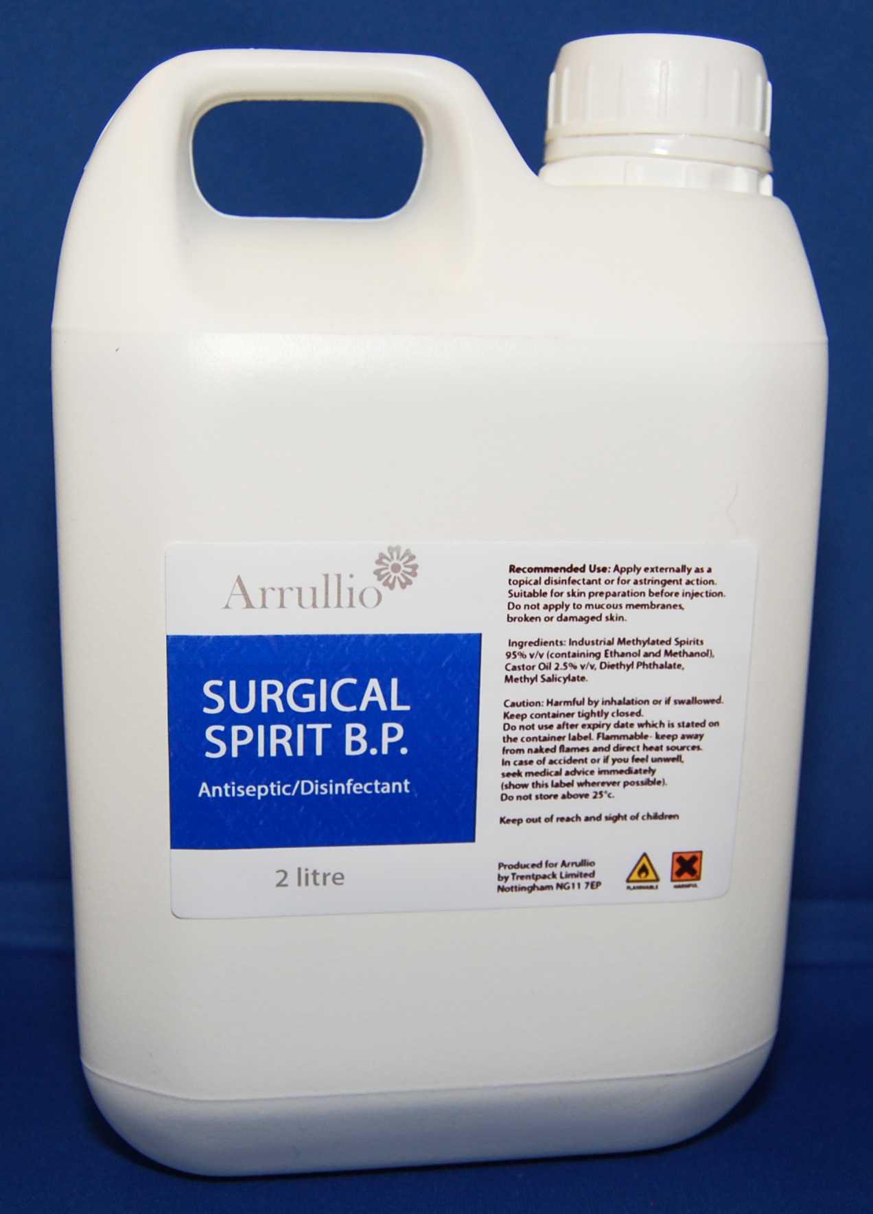 Surgical Spirit BP Grade